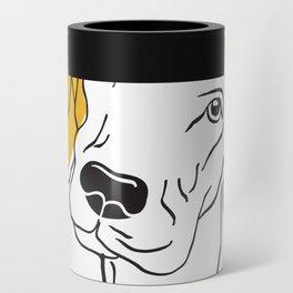 Dog Modern Line Art Can Cooler