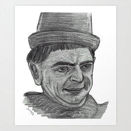 The Blackadder Art Print