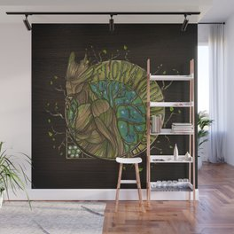 Flora Colossus Wall Mural