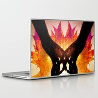 snoopy Laptop & iPad Skins featuring The Pact by Andre Villanueva