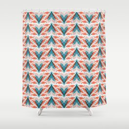 Fish tales 1a Shower Curtain