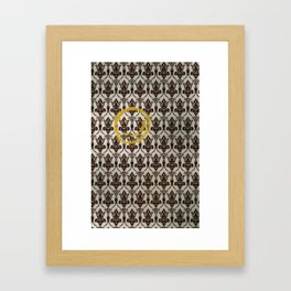 Sherlock Wallpaper Light Framed Art Print