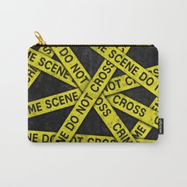 Crime Scene Do Not Cross Carry-All Pouch