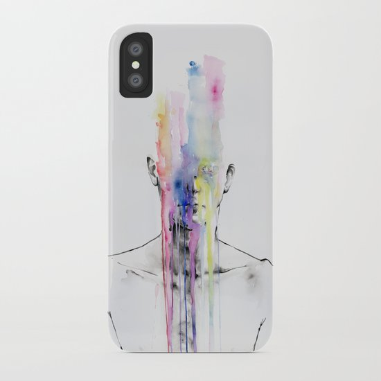 All my art is on you but you still don't hear me iPhone Case