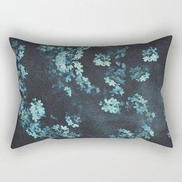 Forget-Me-Nots Pattern Rectangular Pillow