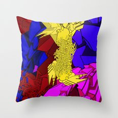 AUTOMATIC WORM 3 Throw Pillow