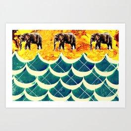 Animalia I Art Print