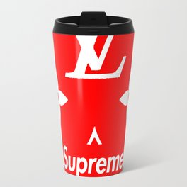 Supreme LV Red Logo Travel Mug