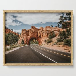 Arch in Dixie Forest - KapturedTraveling Serving Tray