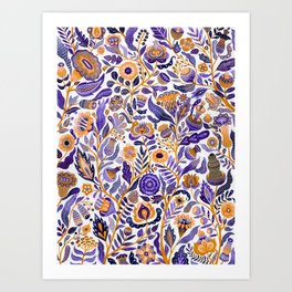 Endlessly growing Art Print