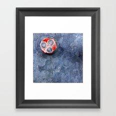 Four Circles Framed Art Print