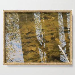 Flooded Forest Floor Serving Tray
