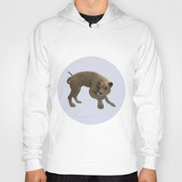 hunting Hoodies featuring Hunting Lioness by Design Windmill