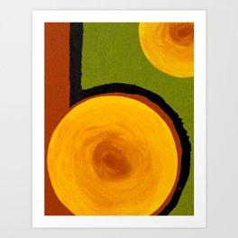 Emerald Five Art Print