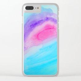 Quartz Halve Clear iPhone Case