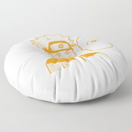 Hero Anime Ok Floor Pillow