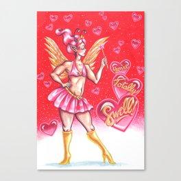 Valentine Fairy Canvas Print