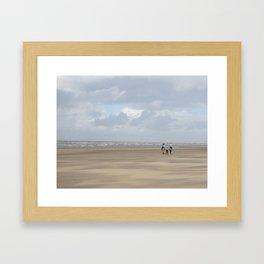 Noordwijk Beach  Framed Art Print