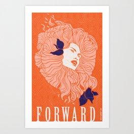 Art Poster - Forward Art Print