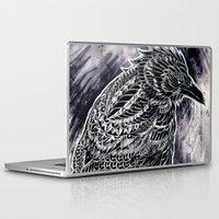 raven Laptop & iPad Skins featuring Raven by BIOWORKZ