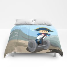 Napoleon Segways the Alps Comforters