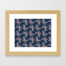 Pattern and Anomaly Project Three Framed Art Print