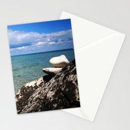 Rocks Lakeside Paradise Stationery Cards