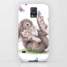Butterfly rabbit Galaxy S5 Slim Case