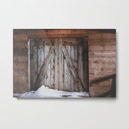 Portal Drifts Metal Print