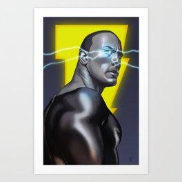 Black Adam Art Print
