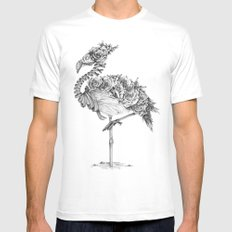 Panacea (Black and White Version) Mens Fitted Tee MEDIUM White