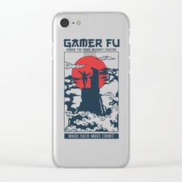 Gamer Fu Clear iPhone Case