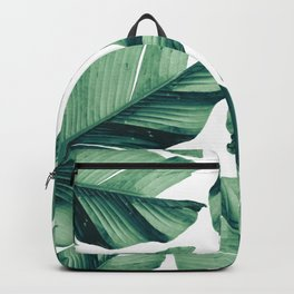 Tropical Banana Leaves Vibes #5 #foliage #decor #art Backpack