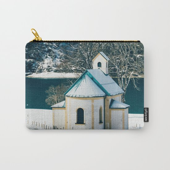 Achensee Winter Lake Church Carry-All Pouch
