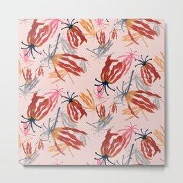 Flame lilies  Metal Print