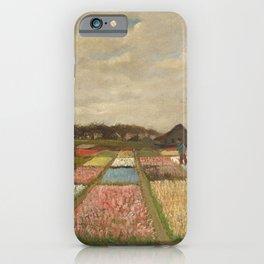 Bulb Fields by Vincent van Gogh iPhone Case