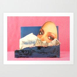 A Bird in Parallax Art Print