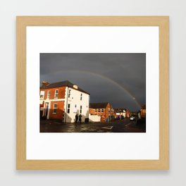 After the Gale Force Wind Framed Art Print