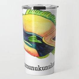 H is for Humuhumunukunukuapua'a Travel Mug