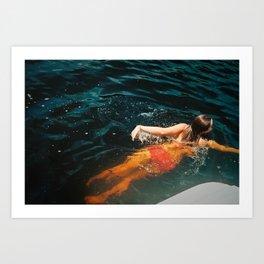 Sweeter Summer Art Print