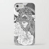 taurus iPhone & iPod Cases featuring Taurus by Jadranka Lacković / ojoMAGico