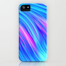 Waterfall,  abstract iPhone Case
