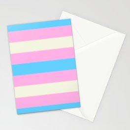 Transgender Pride Flag v2 Stationery Cards