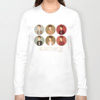 tegan and sara Long Sleeve T-shirts featuring Tegan and Sara: Heartthrob collection by Cas.