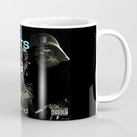 sith Mugs featuring Darkside Undergound Sith Packets by Ant Atomic
