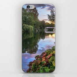 The Thames At Pangbourne iPhone Skin