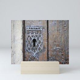 Keyhole Oxford Mini Art Print