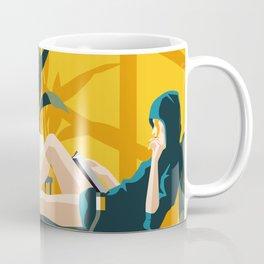 The Blue Hat Girl / Stay Home Coffee Mug