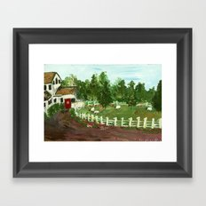 Ash Mill Farm Framed Art Print