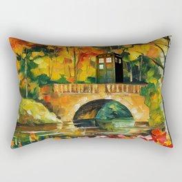TARDIS DR WHO Rectangular Pillow